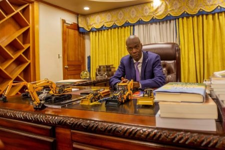 Presidente de Haití, Jovenel Moise